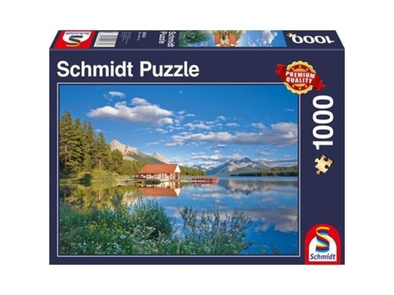 SCHMIDT SCHMIDT PUZZLE 1000: A WEEKEND AT THE LAKE