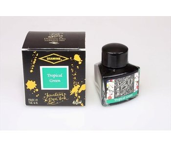 DIAMINE INK 40 ML ANN. TROPICAL GREEN