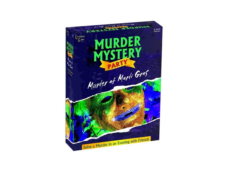 MURDER MYSTERY PARTY GAME: MURDER AT MARDI GRAS