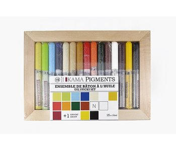 KAMA OIL STICK SET 15 COLOUR