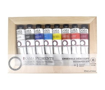 KAMA OIL PAINT SET 8 COLOUR