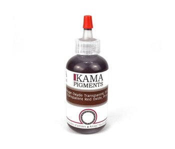 KAMA LIQUID PIGMENT TRANSPARENT RED OXIDE