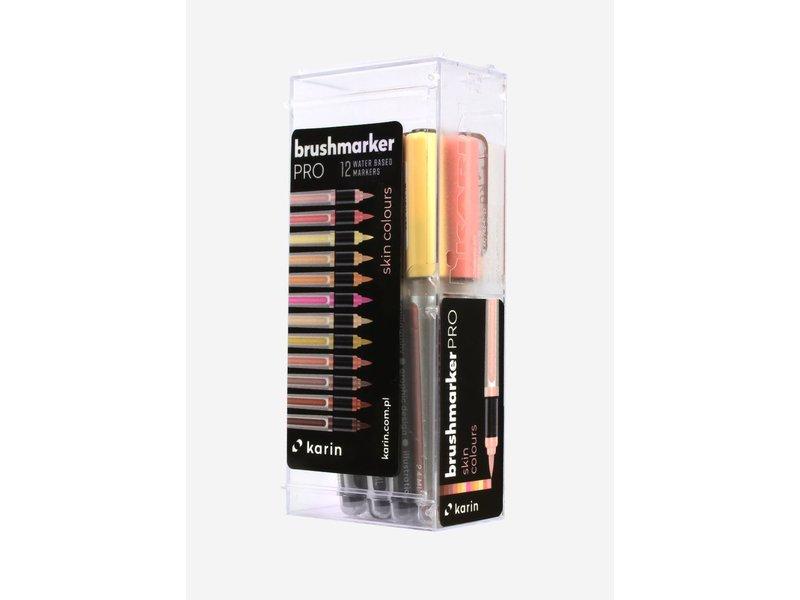 Karin Brushmarker Pro Skin Colours