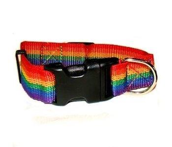 GAY PRIDE PET COLLAR SMALL