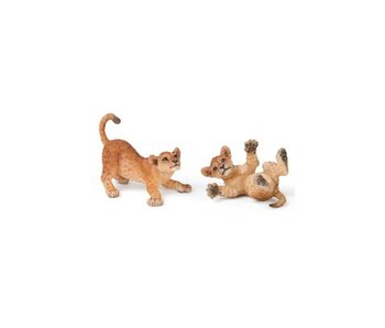PAPO FIGURINE YOUNG LION, PLAYING