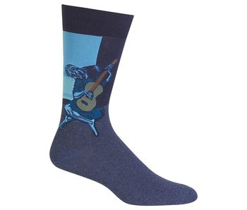 HOTSOX FAMOUS ARTIST PICASSO OLD GUITARIST BLUE