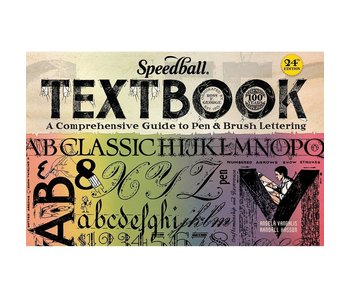 SPEEDBALL TEXTBOOK 24TH EDITION - GUIDE TO PEN & BRUSH LETTERING