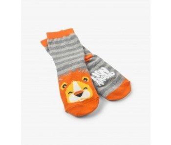 LBH KIDS ANIMAL SOCKS - LION AROUND