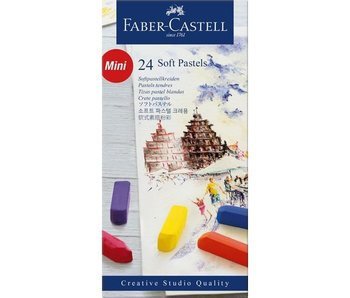 FABER CASTELL SOFT PASTELS MINI 24PK SET