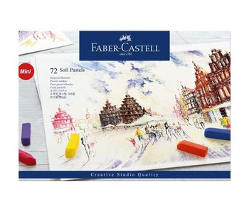 FABER CASTELL SOFT PASTELS MINI 72PK SET