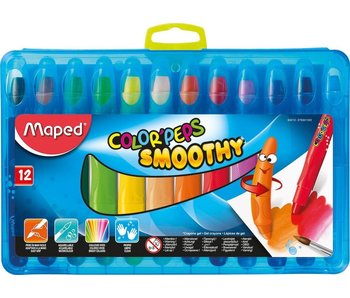 MAPED COLOR PEPS OIL PASTELS SET 12PK