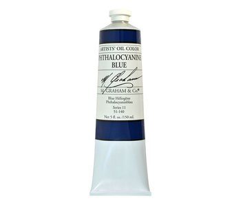 M. GRAHAM ARTIST OIL 150ML PHTHALOCYANINE BLUE