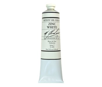 M. GRAHAM ARTIST OIL 150ML ZINC WHITE