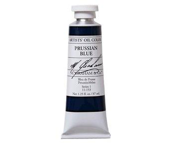 M. GRAHAM ARTIST OIL 37ML PRUSSIAN BLUE