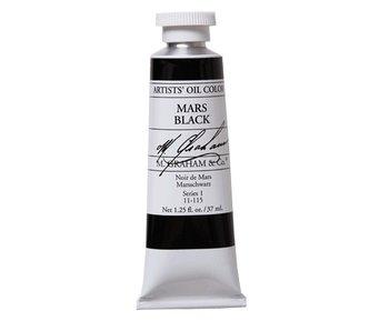 M. GRAHAM ARTIST OIL 37ML MARS BLACK