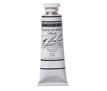 M. GRAHAM ARTIST OIL 37ML TITANIUM WHITE (ALKYD)