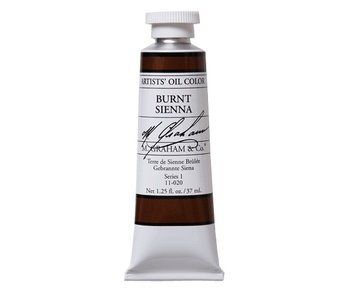 M. GRAHAM ARTIST OIL 37ML BURNT SIENNA