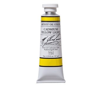 M. GRAHAM ARTIST OIL 37ML CADMIUM YELLOW LIGHT