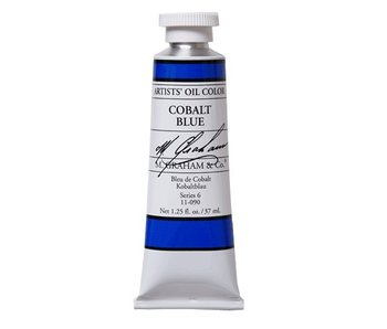 M. GRAHAM ARTIST OIL 37ML COBALT BLUE