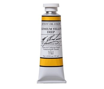 M. GRAHAM ARTIST OIL 37ML CADMIUM YELLOW DEEP