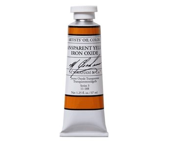 M. GRAHAM ARTIST OIL 37ML TRANSPARENT YELLOW IRON OXIDE