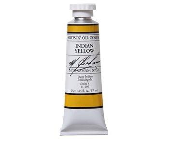 M. GRAHAM ARTIST OIL 37ML INDIAN YELLOW