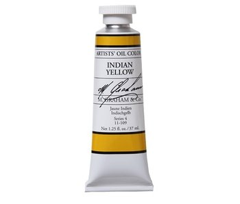 M. GRAHAM ARTIST OIL 37ML INDIAN YELLOW