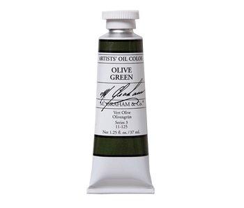 M. GRAHAM ARTIST OIL 37ML OLIVE GREEN