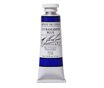 M. GRAHAM ARTIST OIL 37ML ULTRAMARINE BLUE