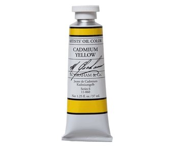 M. GRAHAM ARTIST OIL 37ML CADMIUM YELLOW