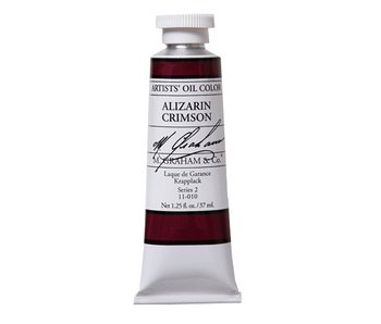 M. GRAHAM ARTIST OIL 37ML ALIZARIN CRIMSON