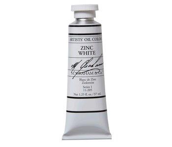 M. GRAHAM ARTIST OIL 37ML ZINC WHITE