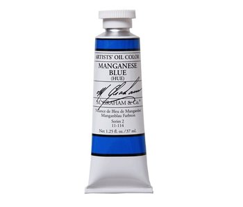 M. GRAHAM ARTIST OIL 37ML MANGANESE BLUE (HUE)