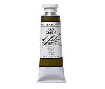 M. GRAHAM ARTIST OIL 37ML AZO GREEN