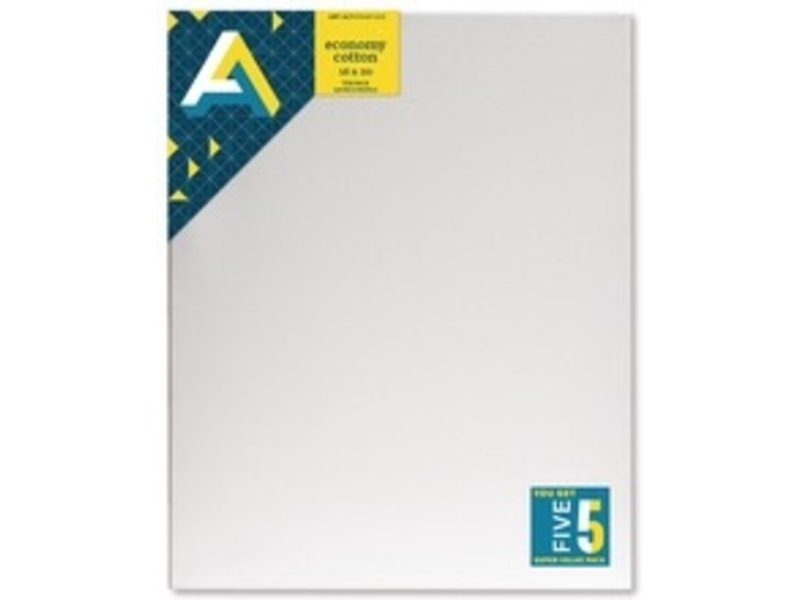 ART ALTERNATIVES ECONOMY STRETCHED CANVAS 16x20 5 CANVAS VALUE PACK