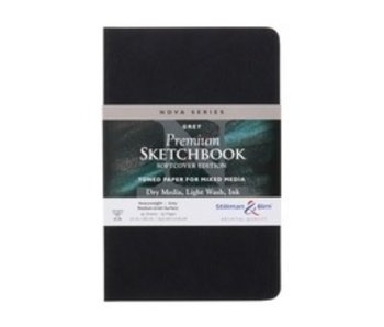 STILLMAN & BIRN PREMIUM SKETCHBOOK MIXED MEDIA 5.5X8.5 GREY