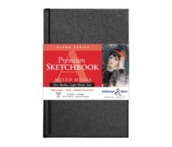 STILLMAN & BIRN PREMIUM SKETCHBOOK MIXED MEDIA 9x6