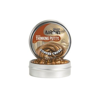 "CRAZY AARON'S THINKING PUTTY 3.5"" TIN PRECIOUS METALS COPPER CRUSH"