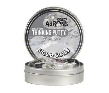 "CRAZY AARON'S THINKING PUTTY 4"" TIN LIQUID GLASS"
