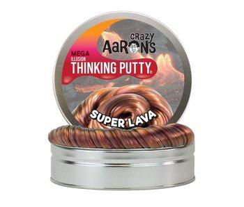 """CRAZY AARON'S THINKING PUTTY 4"""" TIN SUPER ILLUSION LAVA"""