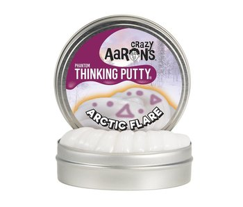 "CRAZY AARON'S THINKING PUTTY 4"" TIN ARCTIC FLARE"