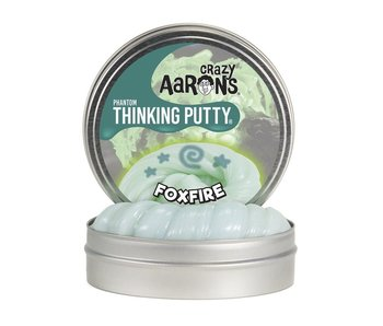 "CRAZY AARON'S THINKING PUTTY 4"" TIN FOXFIRE"