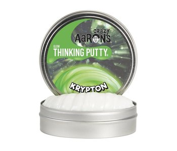 "CRAZY AARON'S THINKING PUTTY 4"" TIN KRYPTON"