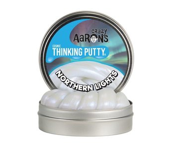 "CRAZY AARON'S THINKING PUTTY 4"" TIN NORTHERN LIGHTS"