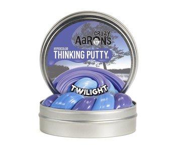 """CRAZY AARON'S THINKING PUTTY 4"""" TIN TWILIGHT"""