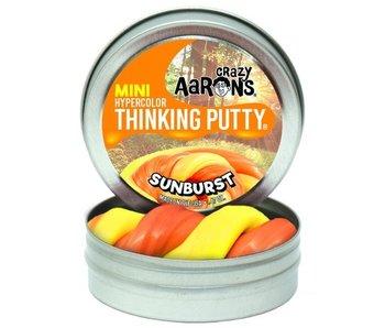 """CRAZY AARON'S THINKING PUTTY 4"""" TIN SUNBURST"""