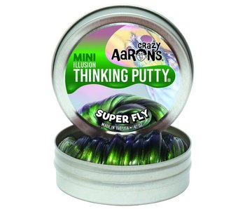 CRAZY AARON'S THINKING PUTTY SMALL TIN SUPER FLY