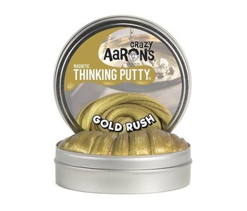 "CRAZY AARON'S THINKING PUTTY 4"" GOLD RUSH"