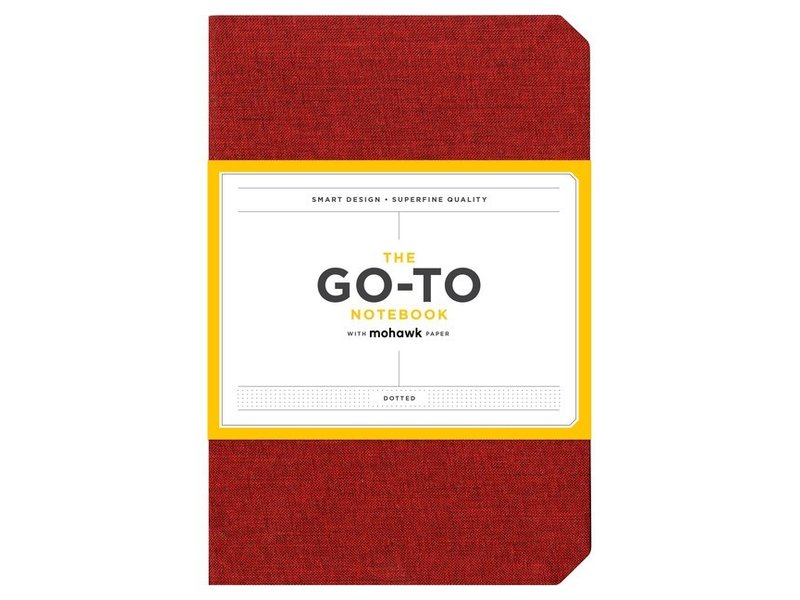 THE GO-TO NOTEBOOK WITH MOHAWK PAPER DOTTED RED