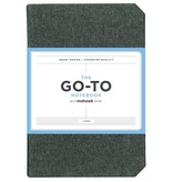 THE GO-TO NOTEBOOK WITH MOHAWK PAPER LINED CHARCOAL